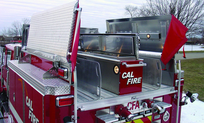 34 Wildland Hme Inc Diagram Of Pierce Fire Engine Cal Hose Bed Back