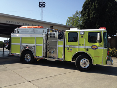 Special delivery cal oes lends hundreds of hme pumpers to cal oes has a temporary use agreement with the sacramento ca fire department where sacramento uses and staffs this hme model 18 type 1 pumper freerunsca Choice Image