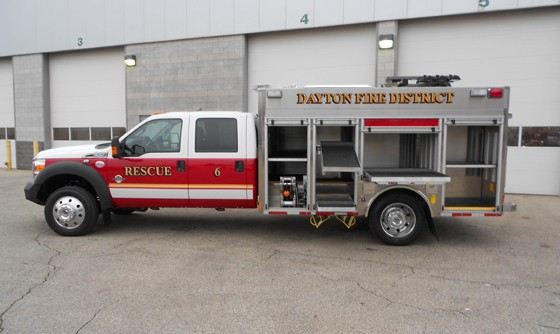 dayton  fire district receives hme packrat hme ahrens fox
