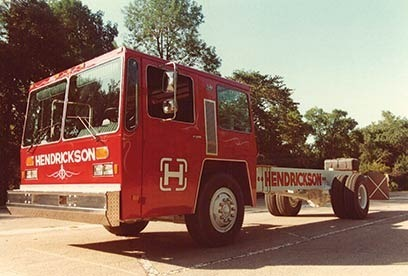 1985-1988 - HME fire truck chassis