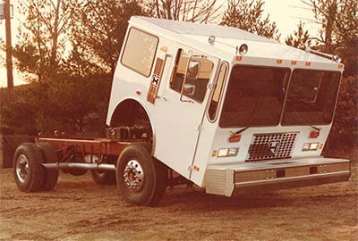 1983 – HME tilt-cab innovation