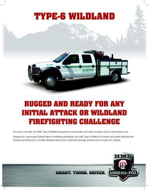 z - Cover Image: Type-6 Wildland Sell Sheet