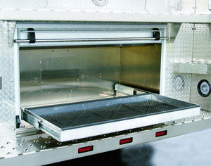 RAT™ Roll Out Tray Rear Step Compartment