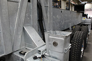 HOT-DIPPED GALVANIZED FRAME OPTION