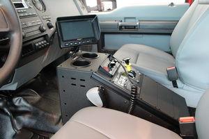 """MiniEvoâ""""¢ (Ford F-550) Interior console"""
