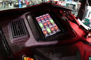 Touch Screen in Cab