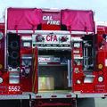 34D Cal Fire Rear Open Back